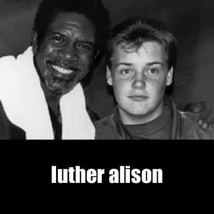 Tommy Allen with Luther Alison