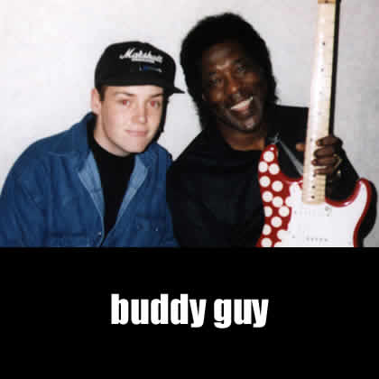 Tommy Allen with Buddy Guy